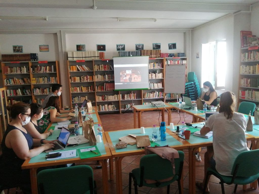 publicmakers meting in Italy Cori